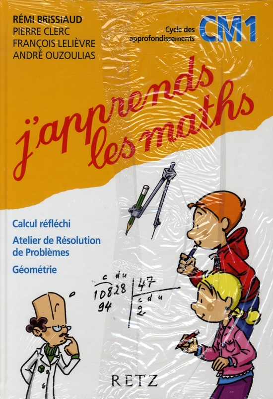 J'Apprends Les Maths Cm1 Manuel+Fichier