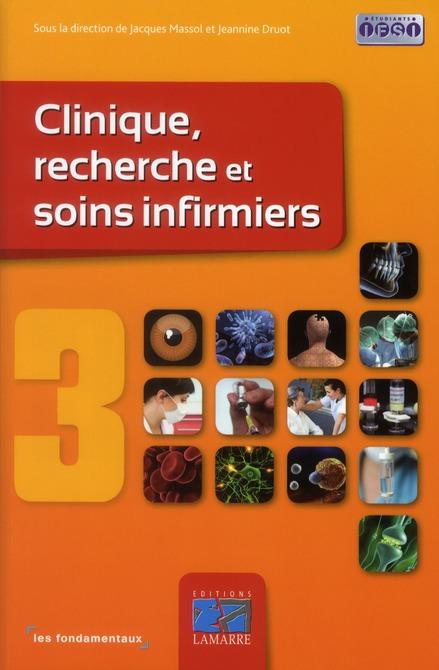 Clinique, Recherches Et Soins Infirmiers T.3
