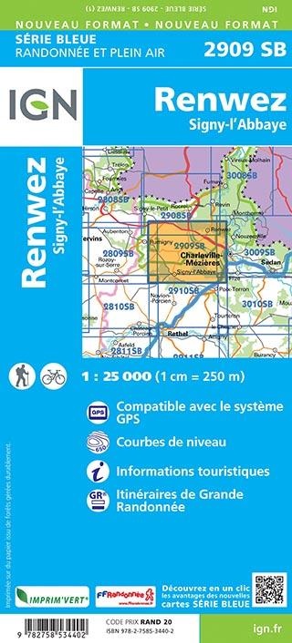 2909SB ; Renwez ; Signy-l'Abbaye