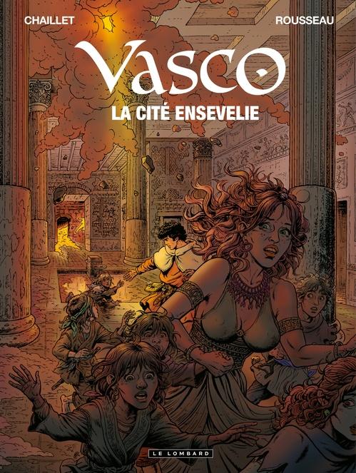 Vasco t.26 ; la cité ensevelie