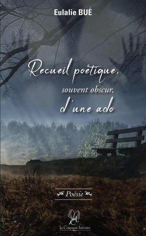 Recueil poétique, souvent obscur, d'une ado