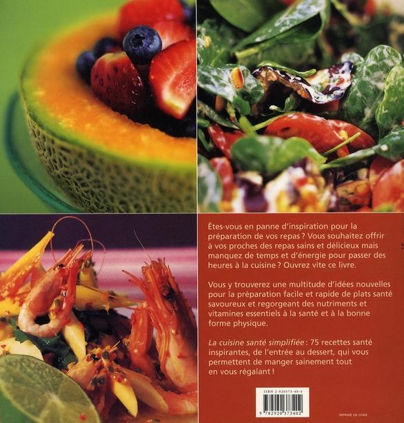 La cuisine santé simplifiée