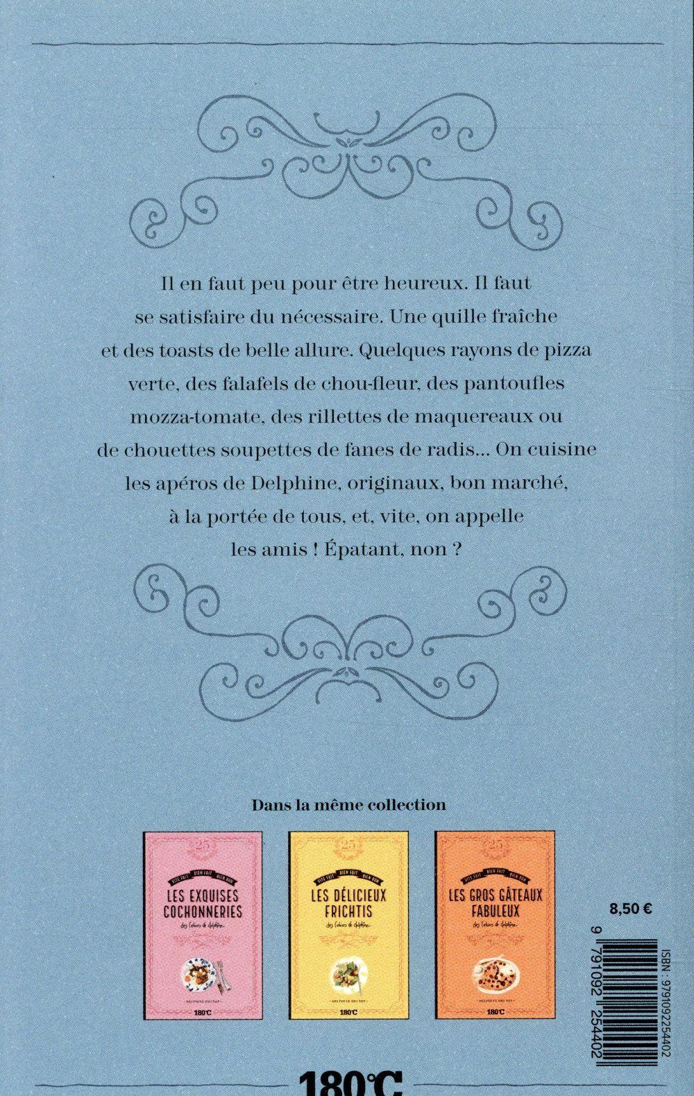 Les apéros épatants des cahiers de Delphine