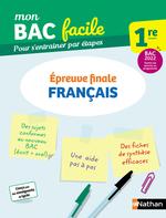 Vente Livre Numérique : Français 1re - Mon BAC facile - Epreuve finale - Enseignement commun Première - Préparation à l'épreuve du Bac 2022 - EPUB