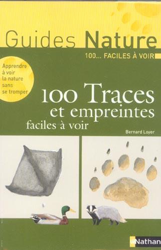 100 traces & empreintes facile