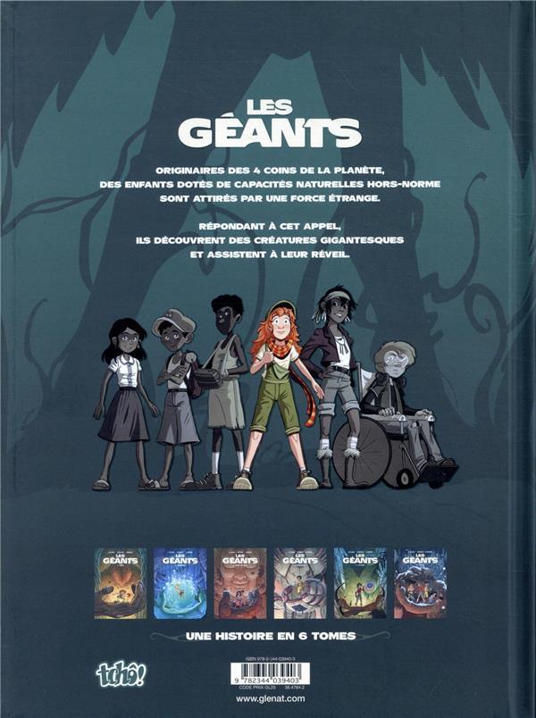 Les Géants T.1 ; Erin