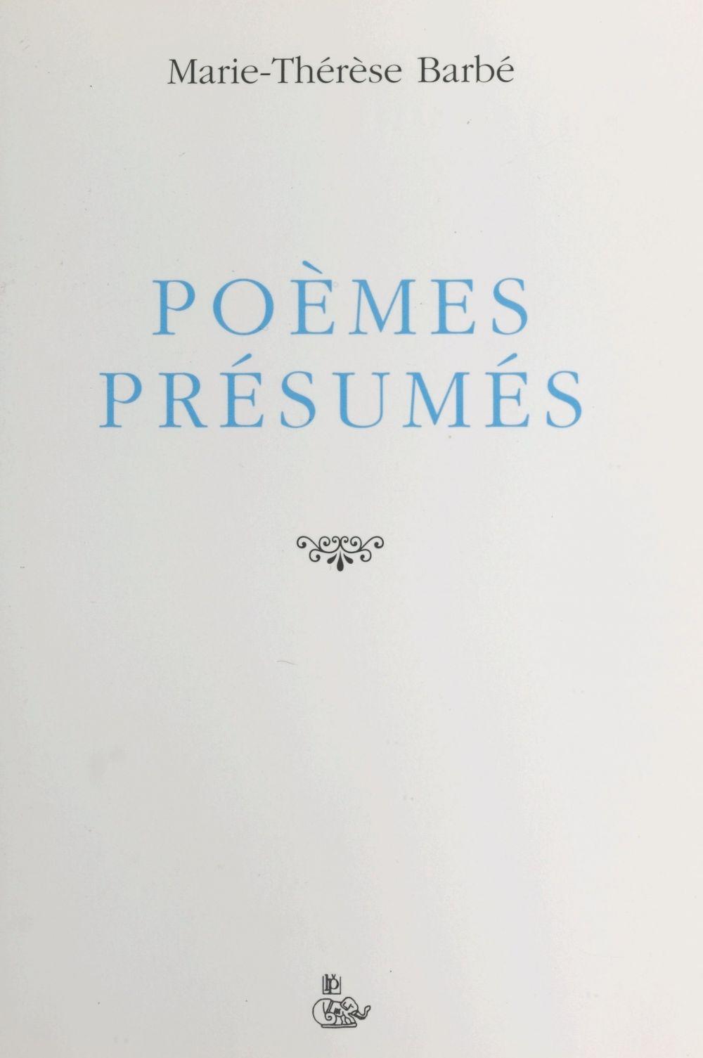 Poemes presumes
