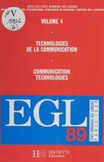 Vente Livre Numérique : Actes des États généraux des langues (4). Technologies de la communication  - Colectif - États généraux des langues