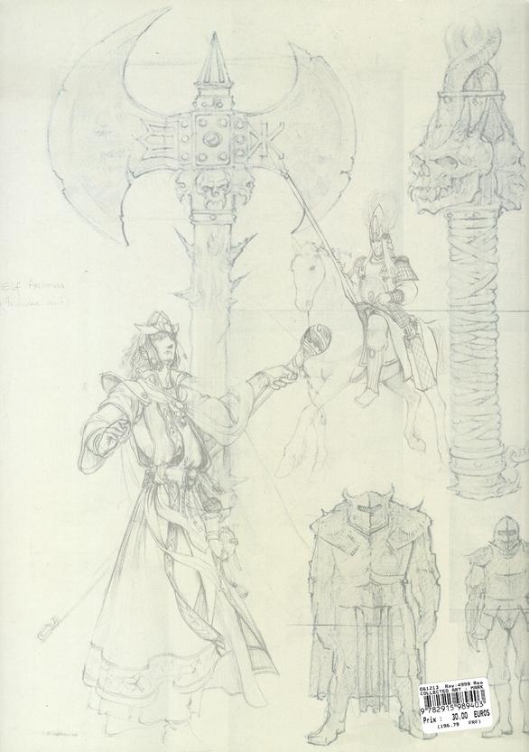 War hammer ; mark of chaos ; concept art