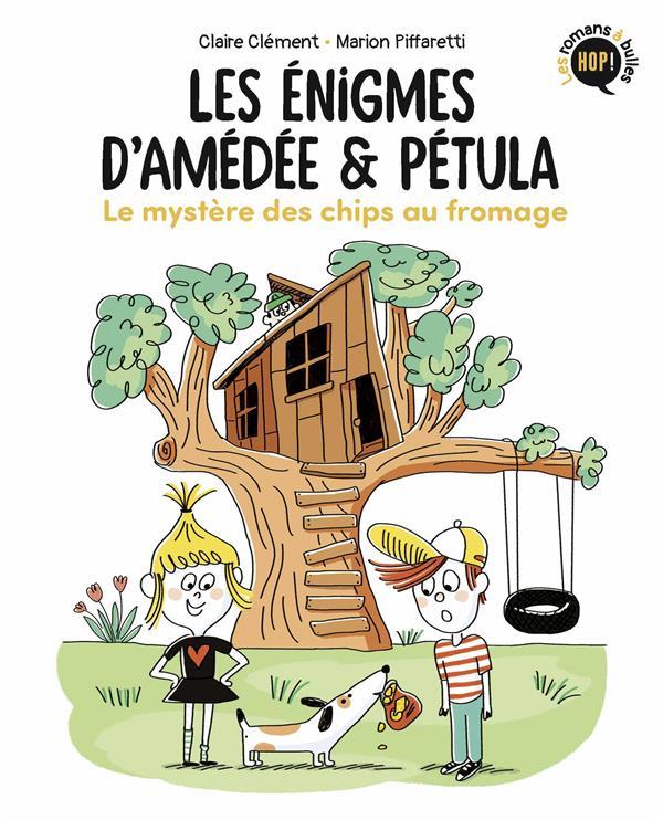 Les énigmes d'Amédée et Pétula t.1 ; le mystère des chips au fromage
