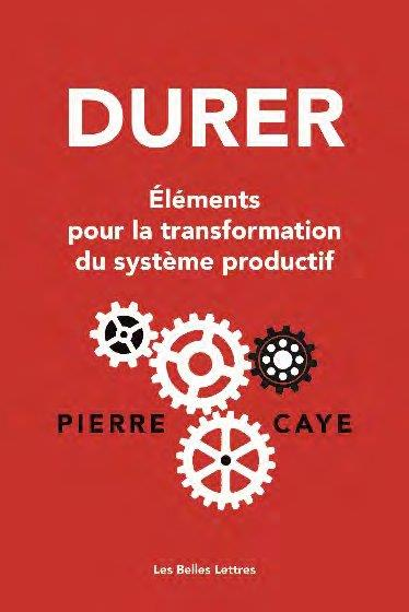 DURER, ELEMENTS POUR LA TRANSFORMATION DU SYSTEME PRODUCTIF