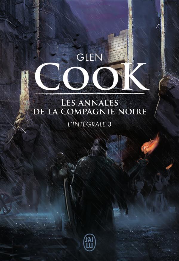 LES ANNALES DE LA COMPAGNIE NOIRE  -  INTEGRALE VOL.3  -  T.7 ET T.8  -  LES LIVRES DE LA PIERRE SCINTILLANTE T.1 Cook Glen