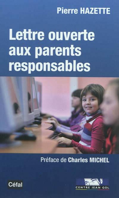 Lettre ouverte aux parents responsables