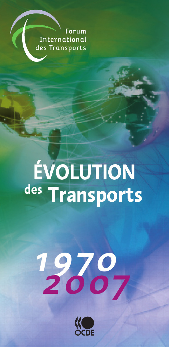 évolution des transports ; 1970-2007
