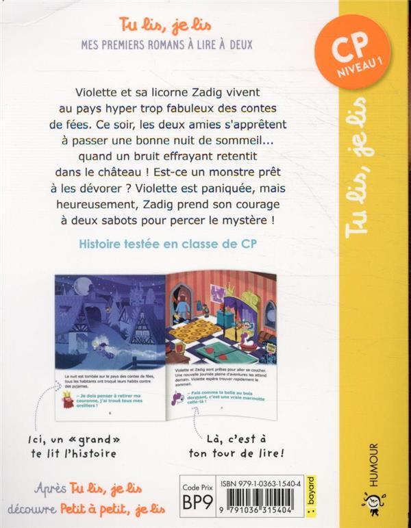 Les aventures hyper trop fabuleuses de Violette et Zadig T.3 ; panique au château !
