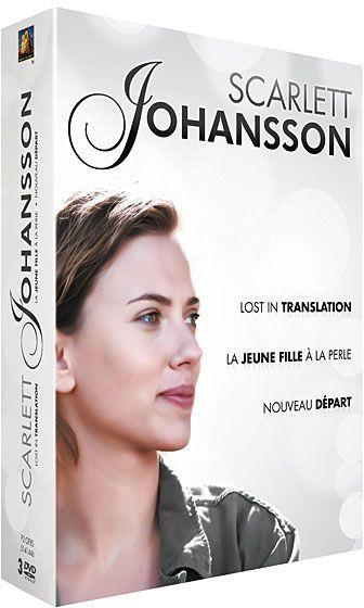 Scarlett Johansson - Coffret 3 films : Nouveau départ + Lost in Translation + La jeune fille à la perle