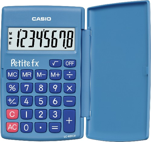 CALCULATRICE SCIENTIFIQUE PRIMAIRE CALCULATRICE PETITE FX BLEUE