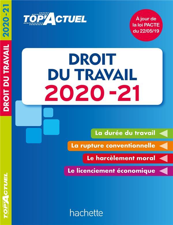 Top'actuel ; droit du travail (édition 2020/2021)
