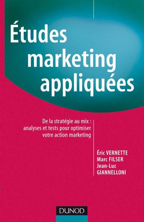 études marketing appliquées