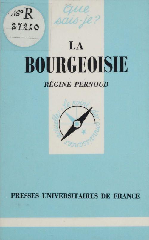 La bourgeoisie qsj 269