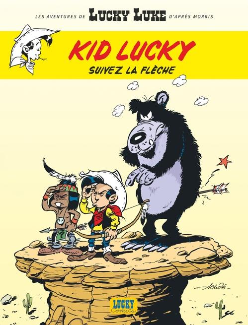 Les aventures de Kid Lucky d'après Morris T.4 ; suivez la flèche