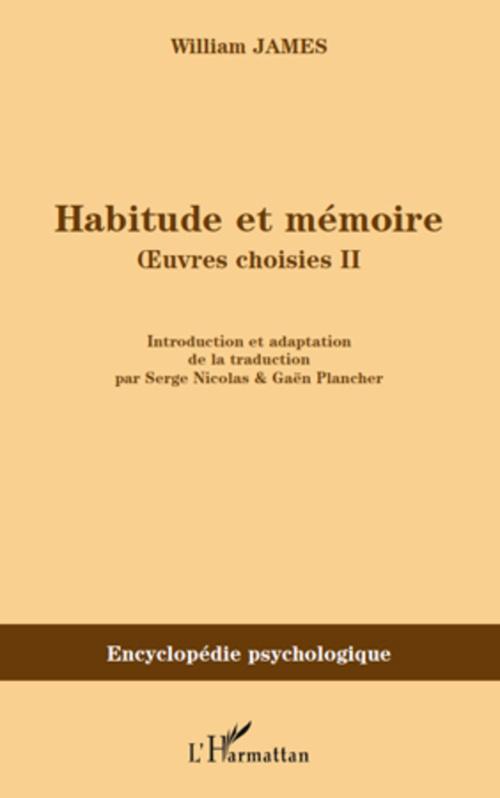 Habitude et mémoire