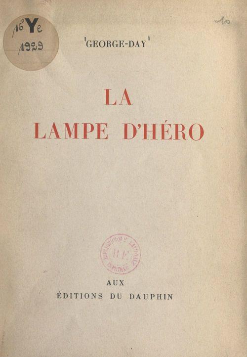 La lampe d'Héro
