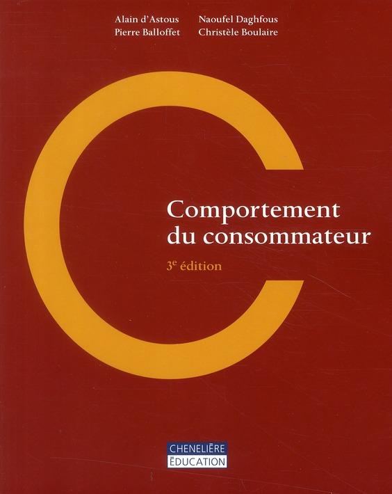Comportement du consommateur (3e édition)