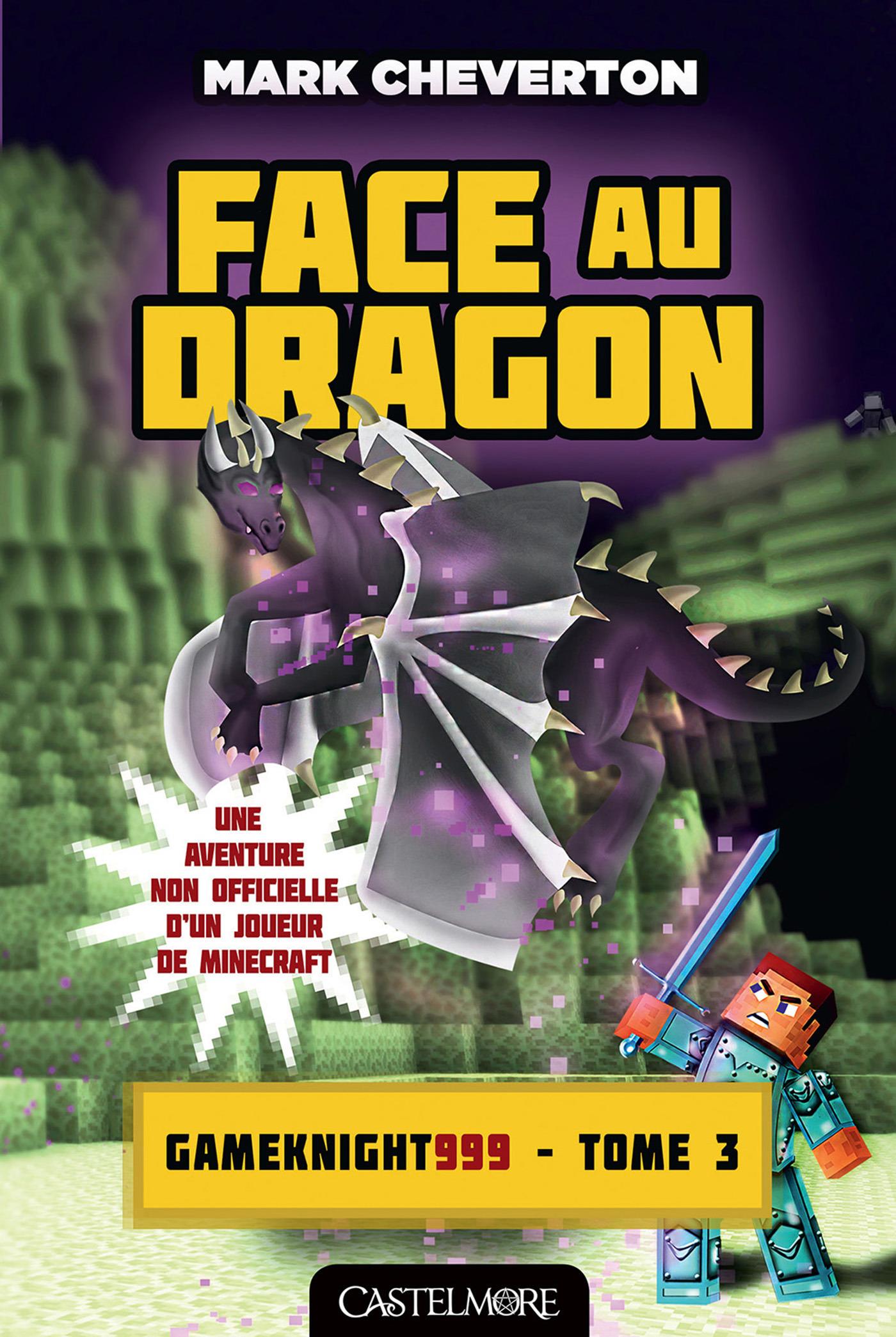 Minecraft - les aventures de Gameknight999 T.3 ; face au dragon