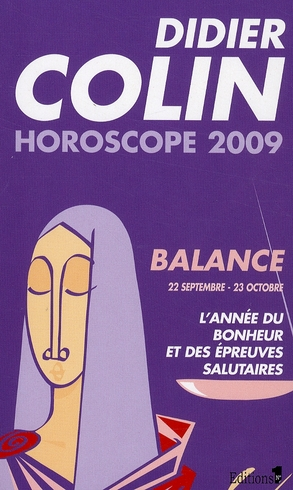 Horoscope 2009 ; cancer