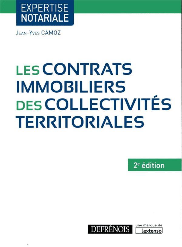 Les contrats immobiliers des collectivités territoriales (2e édition)
