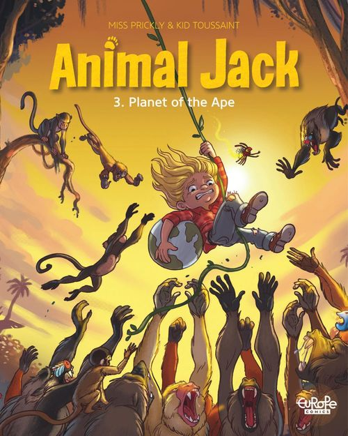 Animal Jack - Volume 3 - Planet of the Ape