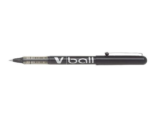 Roller encre liquide - PILOT® - V-Ball 05 - Noir - Pointe fine
