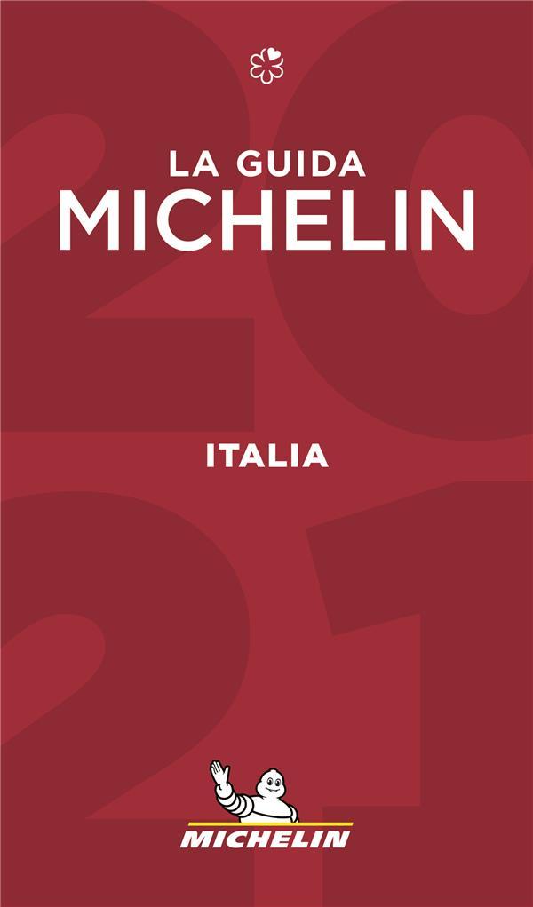 Guide rouge ; Italia ; la guida michelin (édition 2021)