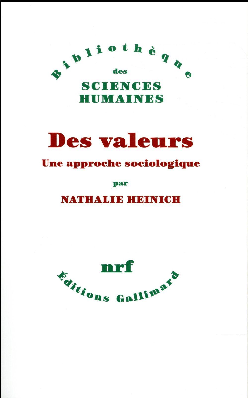 Des valeurs ; une approche sociologique