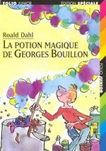 Couverture de La potion magique de georges bouillon