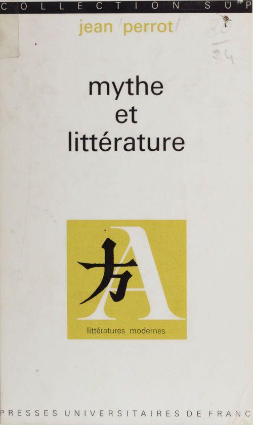 Mythe et littérature