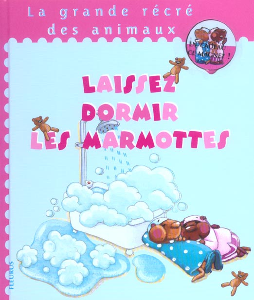 Laissez dormir les marmottes (+magnet)