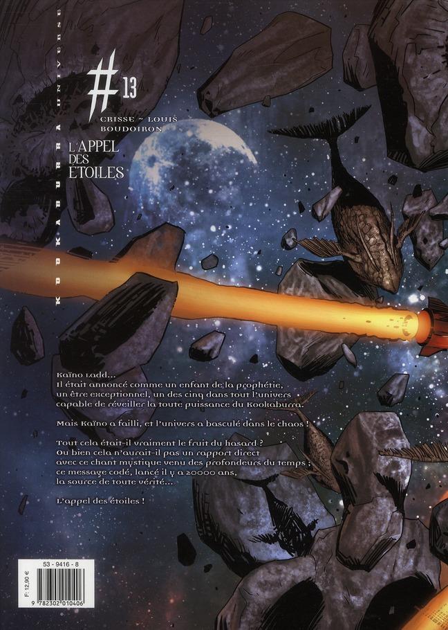 Kookaburra Universe T.13 ; l'appel des étoiles