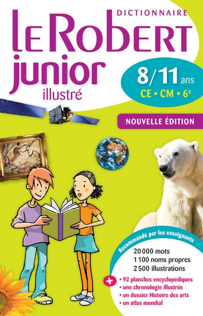 Dictionnaire Le Robert Junior Illustre ; 8/11 Ans ; Ce, Cm, 6eme