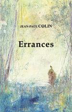 Vente Livre Numérique : Errances  - Jean-Paul COLIN