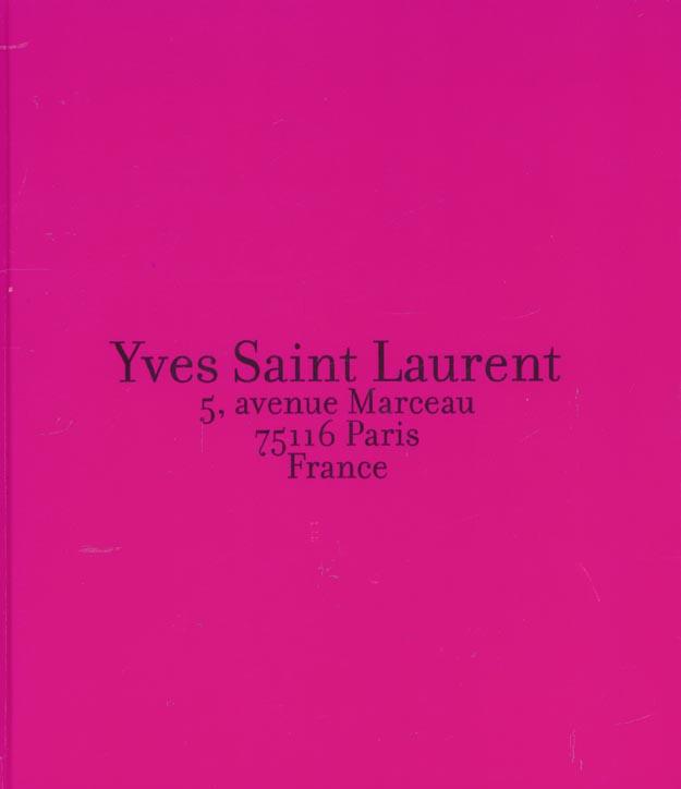 Yves saint laurent - 5 avenue marceau 75016 paris