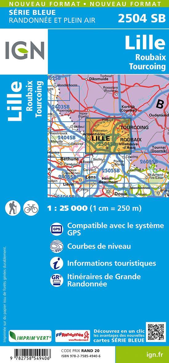 2504SB ; Lille, Roubaix, Tourcoing