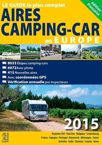 Aires de camping car en Europe (édition 2015)