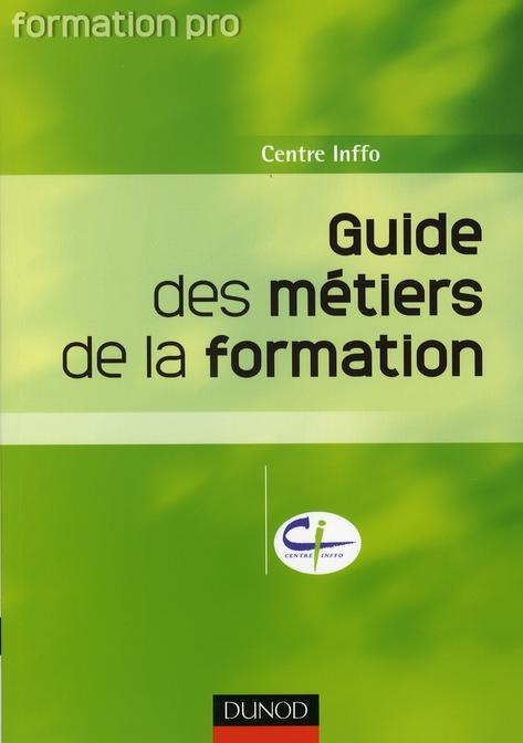 Guide Des Metiers De La Formation