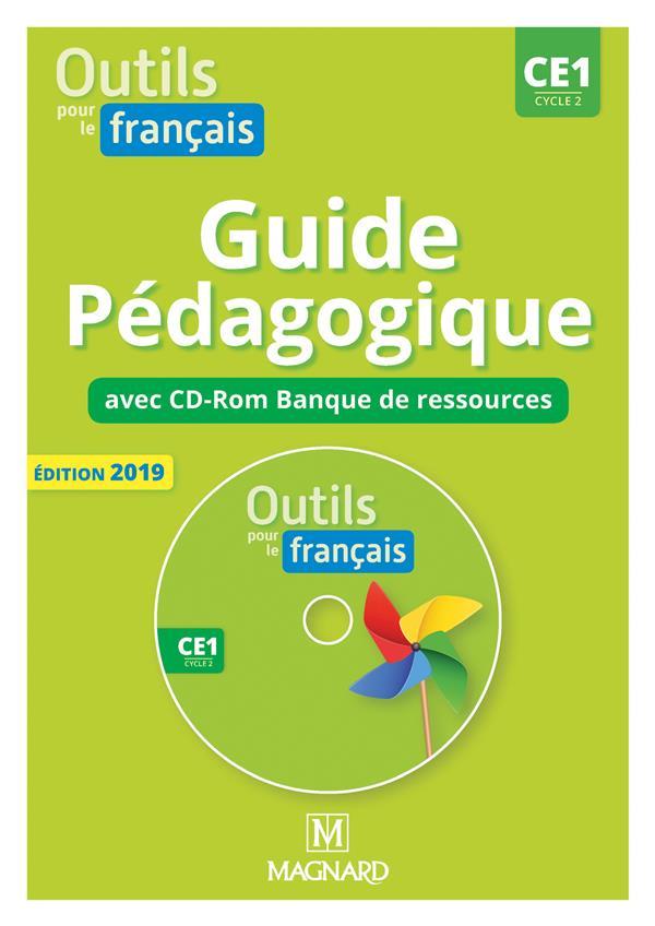 Outils pour le français ; CE1 ; guide pédagogique avec cd-Rom banque de ressources (édition 2019)