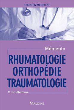 Mémento de stage en médecine : orthopédie traumatologie