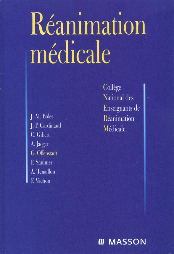 Reanimation medicale