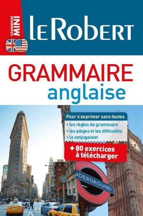 LE ROBERT-BONUS Mini Grammaire anglaise-80 exercices à télécharger