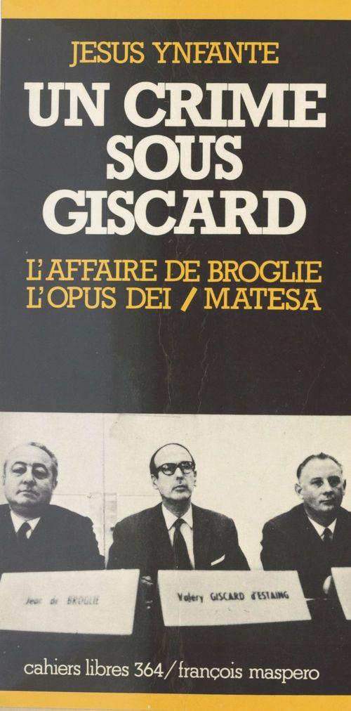 Un crime sous Giscard